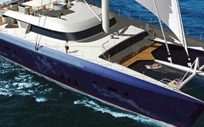 World's Largest Sailing Catamaran Hemisphere