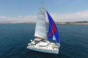 Catamaran – OMIROS II – Greek Yacht Charter
